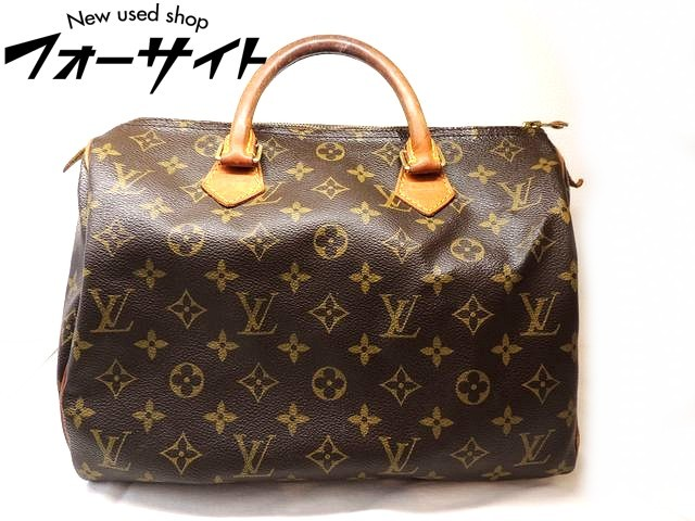 Louis Vuitton ヴィトン■M41426 スピーディ 30 モノグラム ハンドバッグ ボストンバッグ□1G