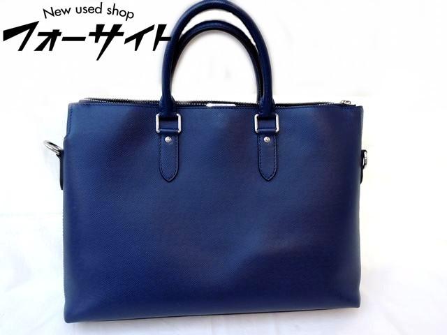 美品 Louis Vuitton ヴィトン■M33417 アントン・ブリーフケース タイガ ブルーマリーヌ 2WAY ビジネスバッグ□1J