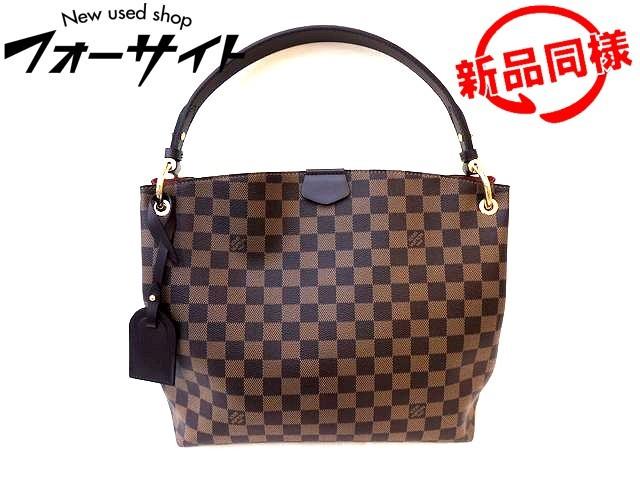 ヴィトン ショルダーバッグ ■ N44044 グレースフル PM ダミエ バッグ 新品同様 Louis Vuitton □2F