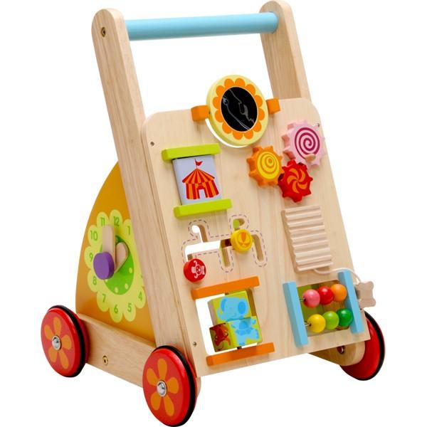 【送料無料】知育玩具 木のおもちゃI'mTOY ベビーファーストウォーカー