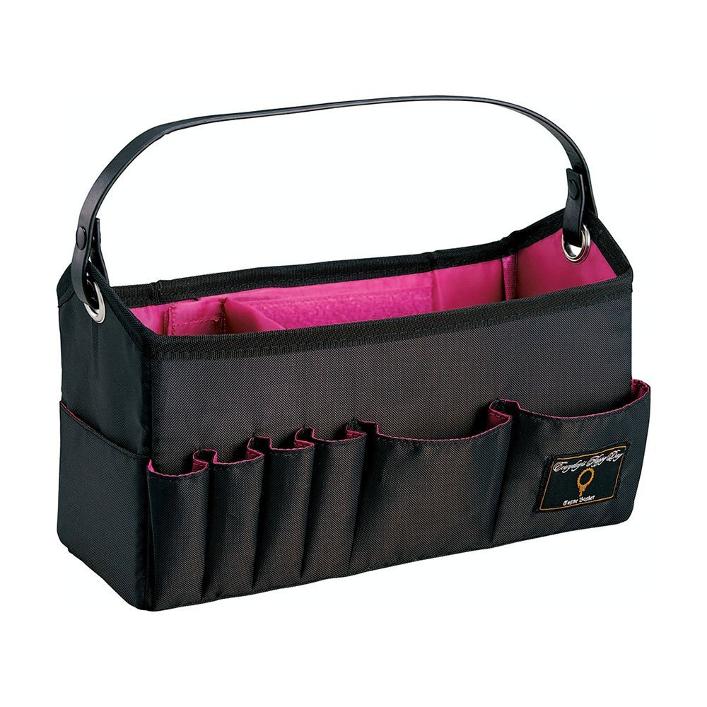 ブラック ピンク メイク道具入れ ポーチ ファッション 高級な 美容 COGIT 送料無料 ポスト投函 誕生日プレゼント コジット 洗える持ち運び便利コスメバスケット