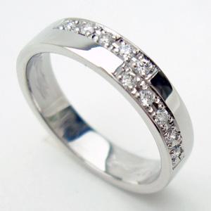 【送料無料】人気のホワイトゴールドリング【刻印・文字彫り無料】結婚指輪・マリッジリング・記念日・ギフト05P13Jan12