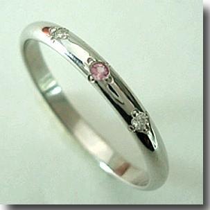 【送料無料】人気のホワイトゴールドリング【刻印・文字彫り無料】結婚指輪・マリッジリング・記念日・ギフト