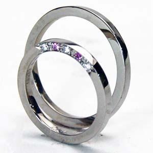 プラチナ リング ダイヤモンド 富士山世界遺産登録記念無料ブルーダイヤ付 2本セット価格/送料無料 プラチナリング ダイヤペアリング【刻印・文字彫り無料】ダイヤ 指輪 結婚指輪 マリッジリング platinum ring 記念日 ギフト ダイアモンド プラチナ指輪