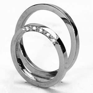 【2本セット価格/送料無料】プラチナ リングダイヤペアリング【刻印・文字彫り無料】結婚指輪 マリッジリング 記念日 ギフトplatinum ring ダイヤ ダイヤモンド プラチナリング プラチナ指輪 ダイアモンド 指輪