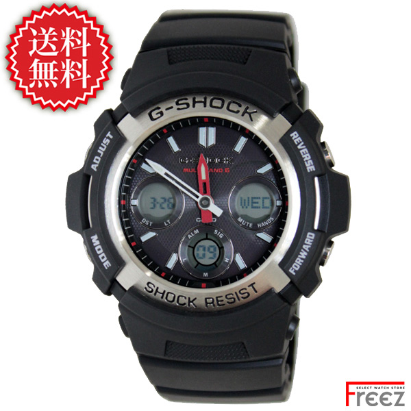 【エントリーでポイント5倍】CASIO カシオ G-SHOCK ジーショック 腕時計 メンズ 電波 ソーラー Gショック ジーショック ソーラー 電波時計 AWG-M100-1A 【あす楽】【送料無料】