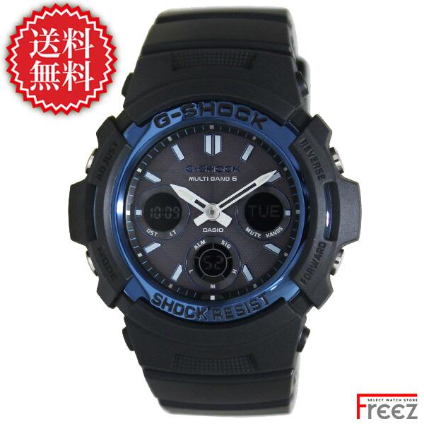 CASIO G-SHOCK ジーショック メンズ 腕時計 電波ソーラー AWG-M100A-1A 世界6局受信 ソーラー 電波時計【あす楽】【送料無料】