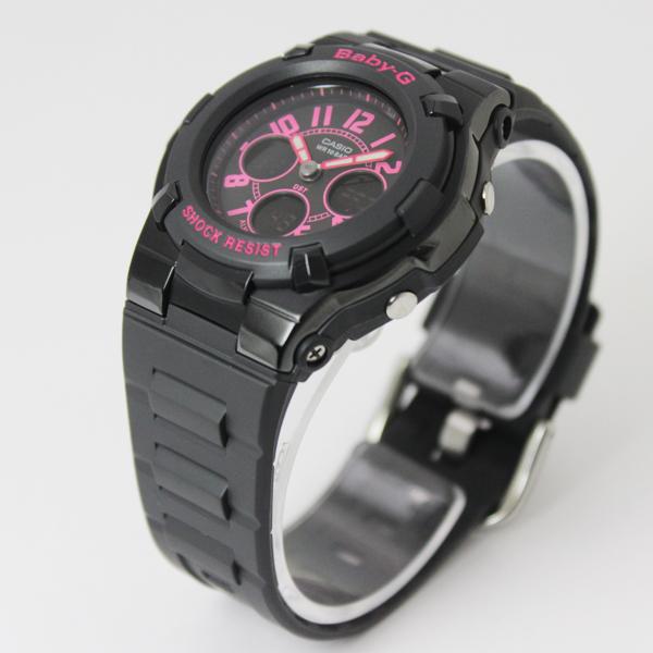 CASIO 카시오 베이비 G Baby-G 시계 베이비 지 BGA-117-1B1 블랙/핑크