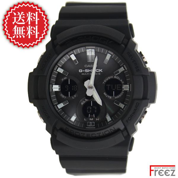 カシオ CASIO G-SHOCK ジ-ショック 腕時計 電波 ソーラー 時計 黒 BLACK GAW-100B-1A【あす楽】【送料無料】