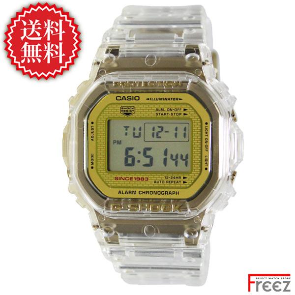 CASIO G-SHOCK 時計 ジーショック ANNIVERSARY LIMITED MODELS 35周年 GLACIER GOLD(グレイシアゴールド) DW-5035E-7【送料無料】【あす楽】