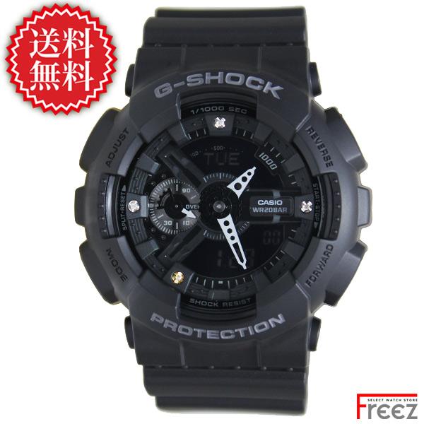CASIO G-SHOCK 35周年記念モデル ダイヤモンド インデックス GA-135DD-1A【あす楽】【送料無料】 腕時計 メンズ