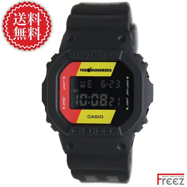 カシオ CASIO ジーショック メンズ 腕時計 G-SHOCK THE HUNDREDS コラボレーションモデル DW-5600HDR-1【送料無料】【あす楽】