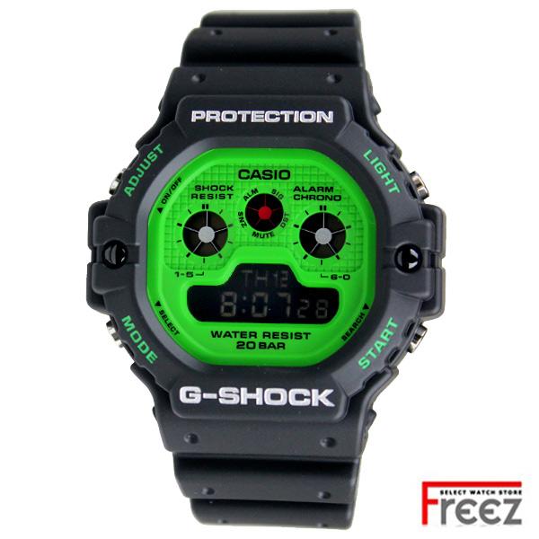 CASIO G-SHOCK 時計 ジーショック 黒緑 DW-5900RS-1【あす楽】