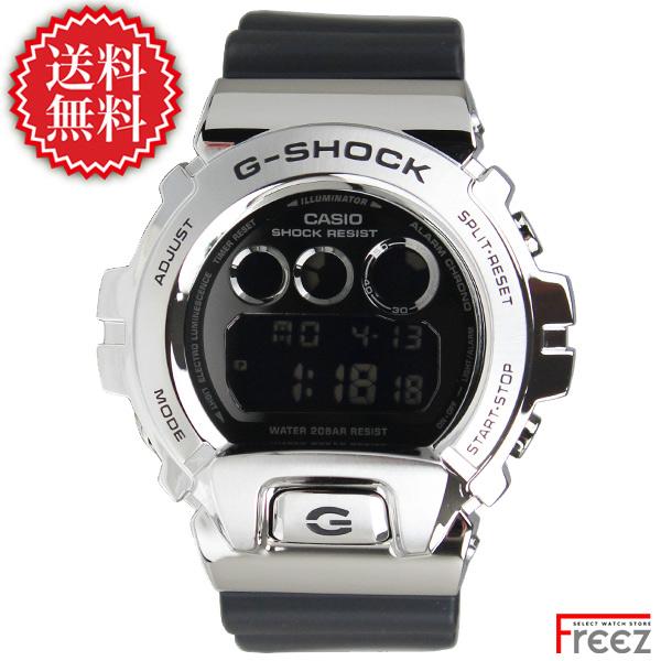 カシオ G-SHOCK 腕時計 メンズ METAL COVERED メタルカバー シルバー GM-6900-1【あす楽】【送料無料】
