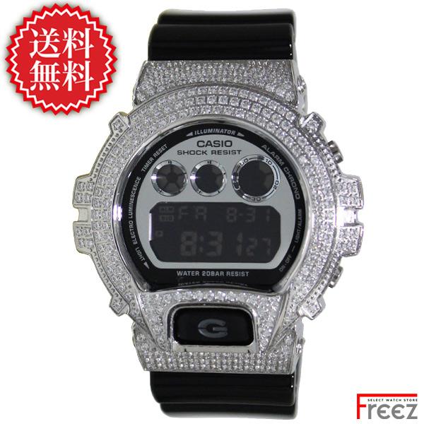 【G-SHOCK カスタム】 G-SHOCK Metallic Colors Gショック カスタム メタリックカラーズ カスタム DW-6900NB-1 G-CUSTOM SET ジルコニア【あす楽】【送料無料】