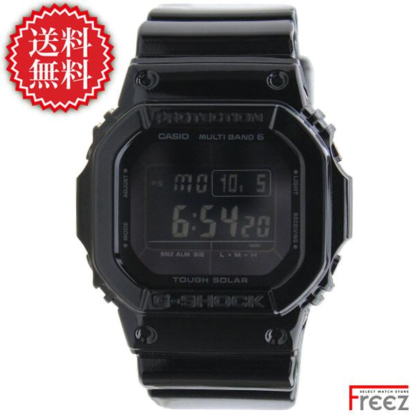 CASIO カシオ G-SHOCK 電波 ソーラー ジーショック 時計 Grossy Black Series(グロッシー・ブラックシリーズ)GW-M5610BB-1 【あす楽】【送料無料】