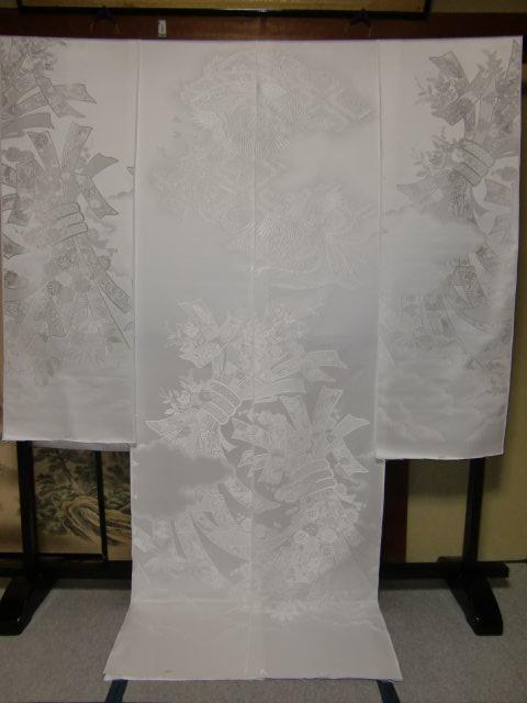 YA02?豪華絢爛 織物 白無垢 打掛 京都老舗機屋謹製 【販売品・受注生産・納期約3ヶ月・ご注文はお早めに!】【お仕立付き・代引き不可】【裏地・白、赤、などお好きな色でお仕立します】