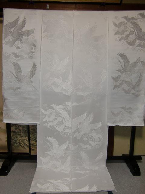YA05?豪華絢爛 織物 白無垢 打掛 京都老舗機屋謹製 【販売品・受注生産・納期約3ヶ月・ご注文はお早めに!】【お仕立付き・代引き不可】【裏地・白、赤、などお好きな色でお仕立します】