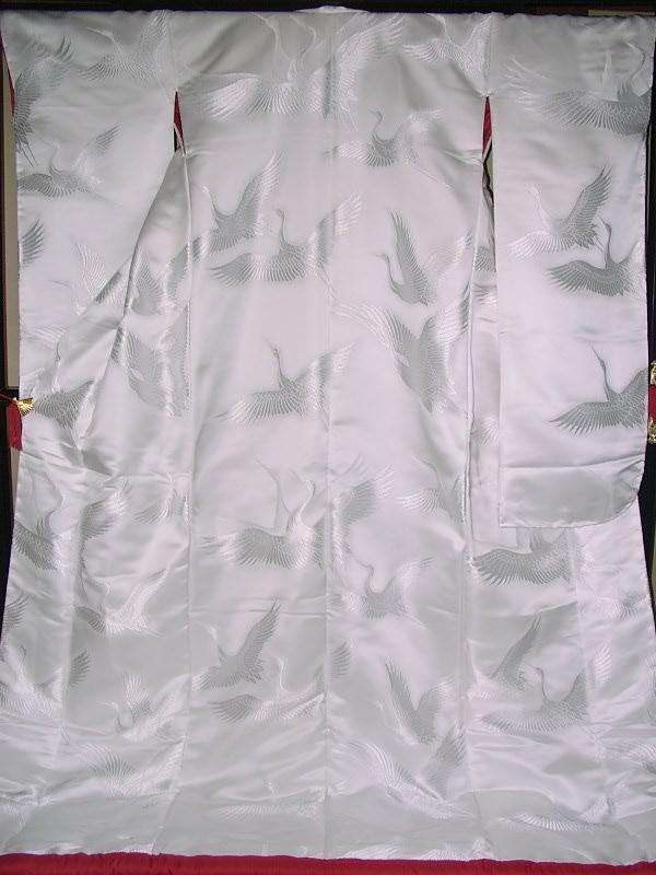 YA09?豪華絢爛 織物 白無垢 打掛 京都老舗機屋謹製 【販売品・受注生産・納期約3ヶ月・ご注文はお早めに!】【お仕立付き・代引き不可】【裏地・白、赤、などお好きな色でお仕立します】