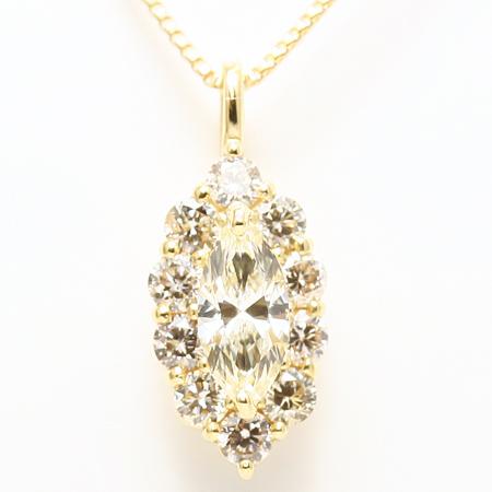 18金ダイヤモンドペンダント
