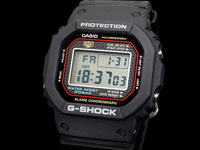 best sneakers 9b60f fdb1c Fujiya ◆◆ Casio G-Shock reproduction model DW-5000-1JF
