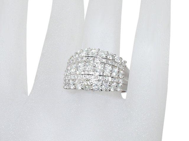 富士屋◆送料無料◆値下げ品◆ダイヤリング 2.13ct Pt900 19.5号【中古】