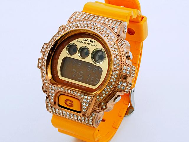 富士屋◆送料無料◆カシオ CASIO Gショック DW-6900SB 腕時計 メンズ アフターチューニング 電池交換済 クオーツ クォーツ QZ【中古】