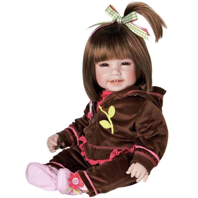 アドラ タドラー ワークアウト シック 20インチ ガール ウェイテッド ドール ギフト セット Adora Toddler Workout Chic 20
