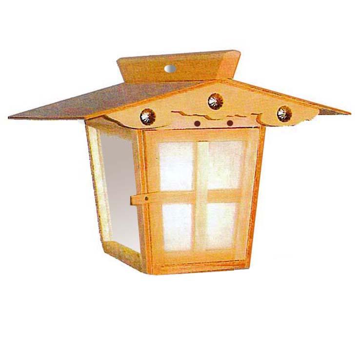 おすすめ 高灯籠 野灯呂 吊り灯籠 (IS吊り 平屋根)電装(電球40w、10mコード付) おすすめ