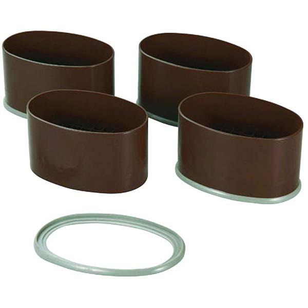 春の新作続々 テーブルやこたつの脚に継ぎ足すだけ NEWハイヒール ワイド4個組 こたつの継脚 4脚分1セット H-651 おすすめ 石丸合成樹脂 18%OFF