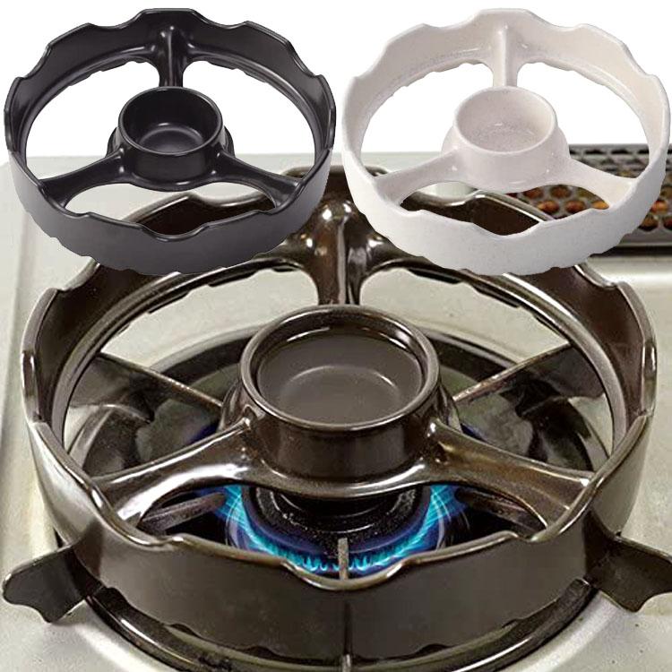 ガス器具の五徳の上に 焼き台 をのせて 国内送料無料 温度センサー付きガスコンロ用焼き台 TSG-001a 日本製 白 トーセラム 10%OFF 黒