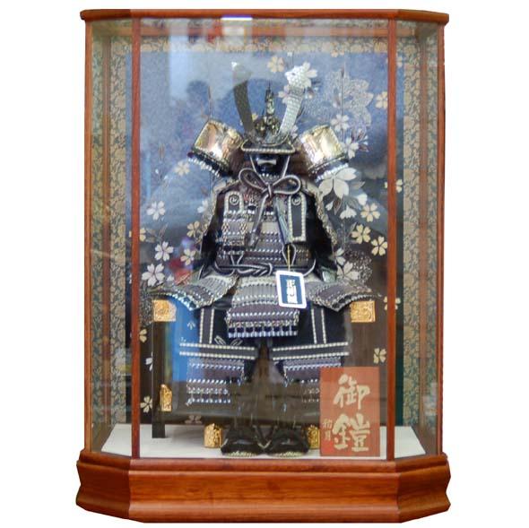 おすすめ 五月人形 鎧ケース飾り551606 お買上げ陣羽織プレゼント おすすめ