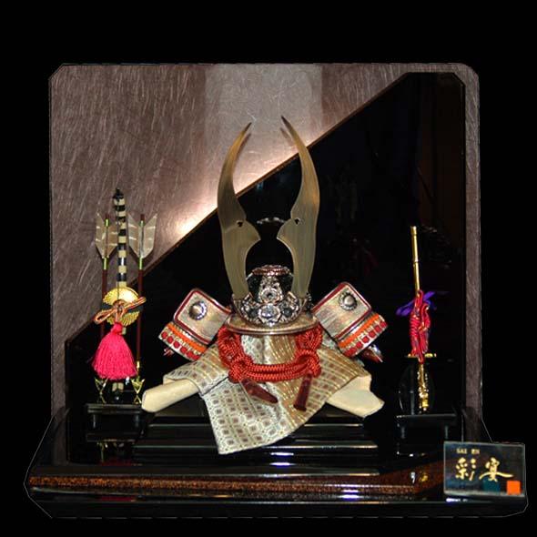 おすすめ 五月人形 電装付兜 彩宴65604 お買上げ陣羽織 おすすめ