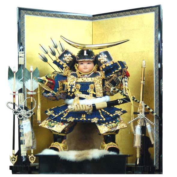 おすすめ 五月人形 武将飾り11号 date11-h325伊達政宗 (だてまさむね) お買上げ陣羽織プレゼント おすすめ
