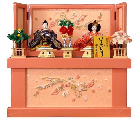 【ポイント5倍還元】おすすめ ひな人形 芥子柳/あずさゆ31402(収納タイプ)おすすめ