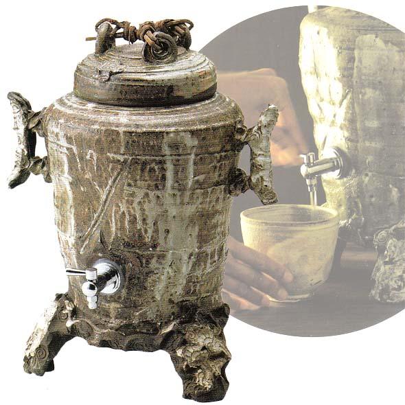 おすすめ 焼酎サーバー 古代風(業務用)(4000cc) 和食器 酒器 料亭 旅館 居酒