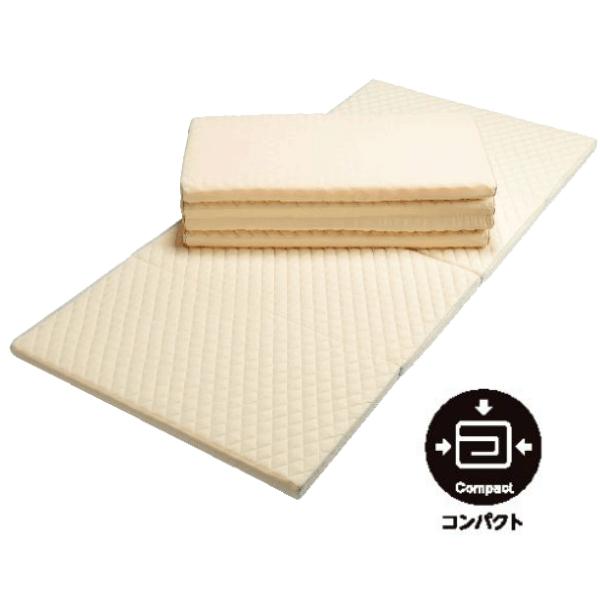 東京西川 スリープコンフィー シングルロング100×210cm レギュラータイプ 4つ折り 敷き布団 KCN1552100
