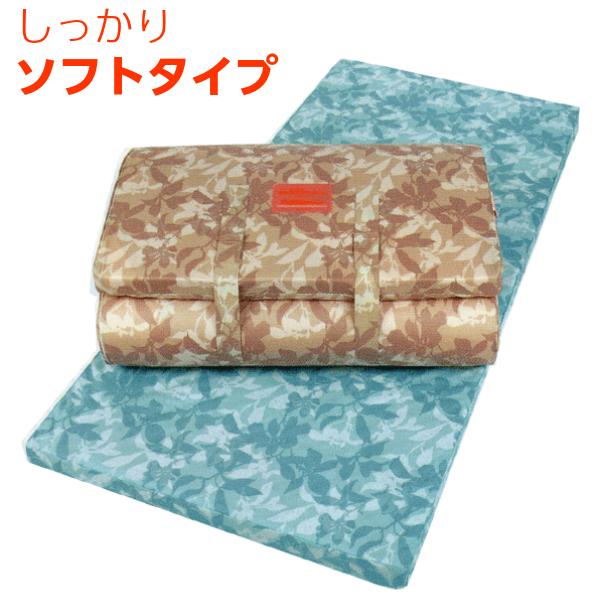 東京西川 健圧敷き布団 シングル 8×91×200cm しっかりソフトタイプ 日本製/ベージュ