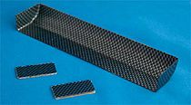 """R-27020 1 / 10 touring car for high downforce wing? s carbon print IFMAR specifications size cut and outstanding."""""""