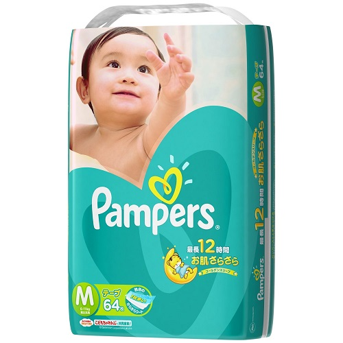 ★ paper diaper pants pampers /Pampers ★ パンパースコットンケア tape type M62-4 pieces