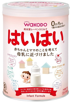 (Shelf life is 1 year or more) milk WAKODO wakodo Chapel Ravens milk Hola 850 g 4 cans + wipes soft Momo 80 x back 2