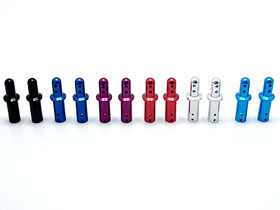 RC model parts square /SQUARE Item No 2pcs TGE-130 aluminum body mount Cap S length: 30.5 mm