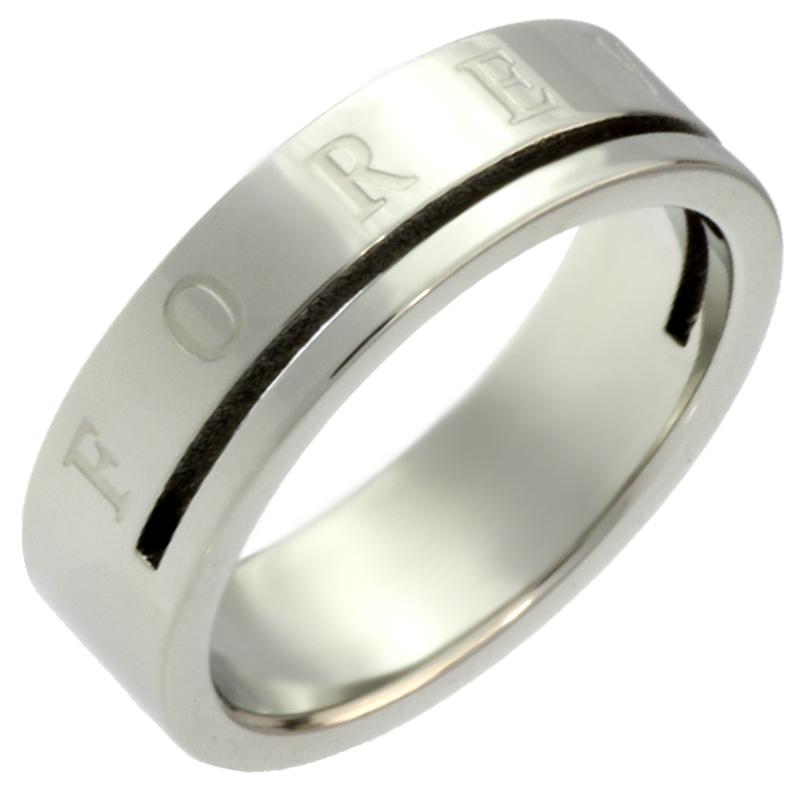結婚祝い フォーエバー ステンレス リング 指輪 信用  刻印 シルバー 楽ギフ_名入れ 安い ジーラブ 楽ギフ_メッセ 楽ギフ_包装選択