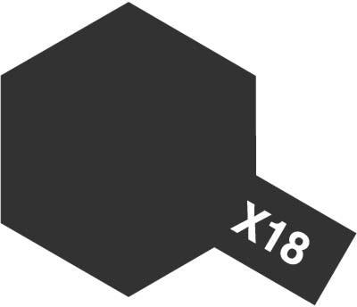 ガンプラ ガンダム グッズ プラモデル なら バンダイ公認プロショップ G作戦 《塗料》 セミグロスブラック エナメル塗料 X-18 へ タミヤ 評判 安心と信頼