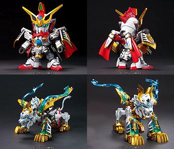 """BB senshi No.351 gotaitei sonken (son Ken) Gundam korinpaku (Colin Pak) s Gundam model kits."""""""