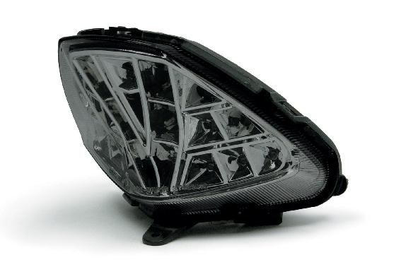 【LEDで美しい&バッテリーに優しい】SP TAKEGAWA(スペシャルパーツ武川) LEDテールランプキット スモークレンズ★HONDA ホンダ CBR250R(MC41)(05-08-0250)