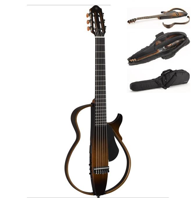 サイレントギター SLG200N:タバコブラウンサンバースト:(TBS) ヤマハ