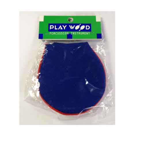 Castanets / mute pad CA-2PBL Cap-blue Plaid
