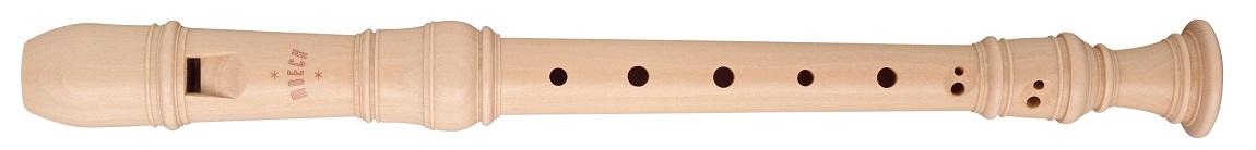 木製リコーダー メックリコーダーロッテンブルグ合奏用 MOECK ソプラノリコーダー4290(B)メイプル2本継ぎ