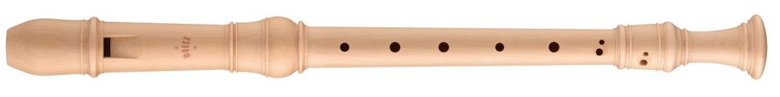 木製リコーダー アルトリコーダー メックリコーダー ロッテンブルグ合奏用 4300(B) メイプル